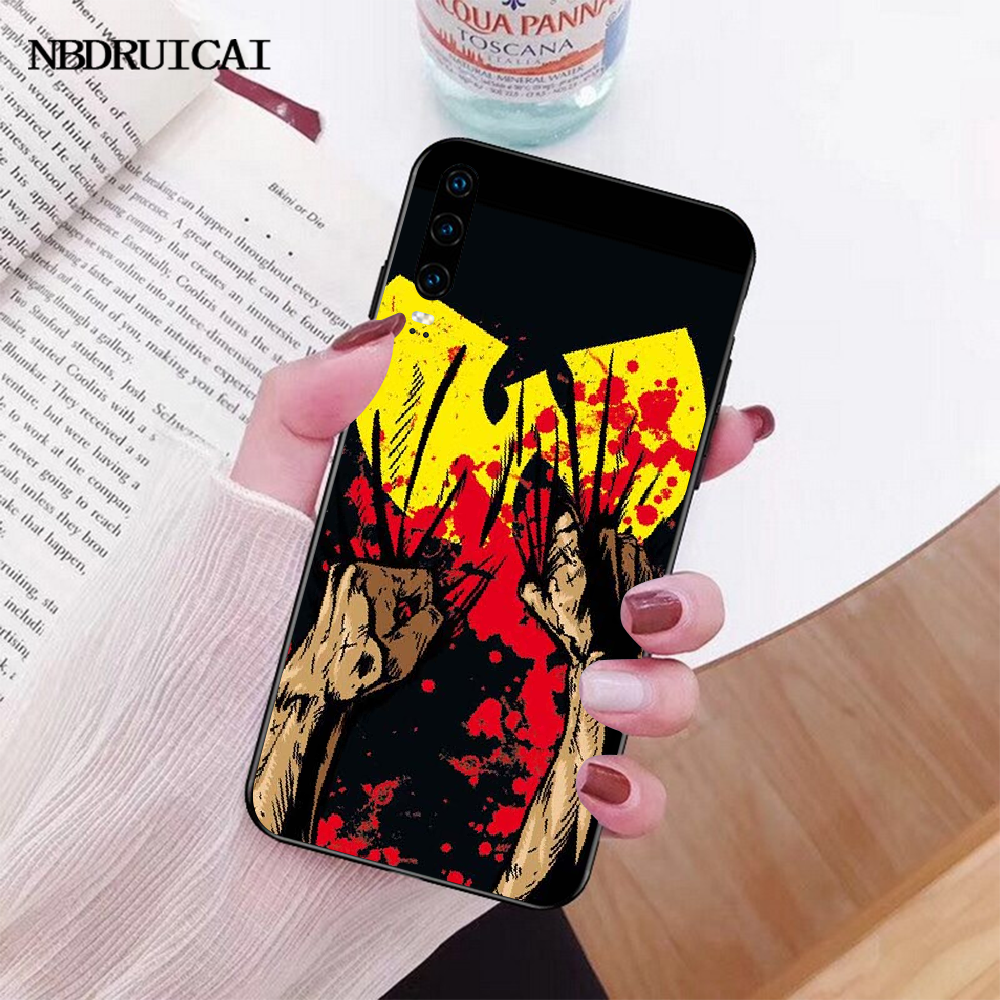 NBDRUICAI Wu Tang Clan הופ שחור TPU רך טלפון Case כיסוי עבור Huawei Honor 20 10 9 8 8x 8c 9x 7c 7a לייט צפה