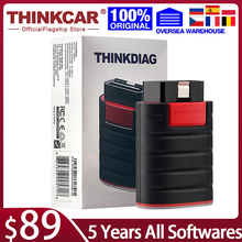 Thinkcar ThinkDiag Full OBD2 All System Diagnostic Tool Actuation Test ECU Coding 15 Reset Service Car Code Reader Scanner