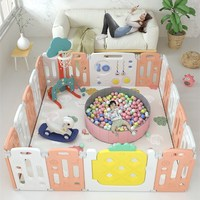 Baby Fruit Theme Playpen for Toddler Crawling Children Safety Barrier Fence Kids Pool Balls Pit Indoor Playground Toys