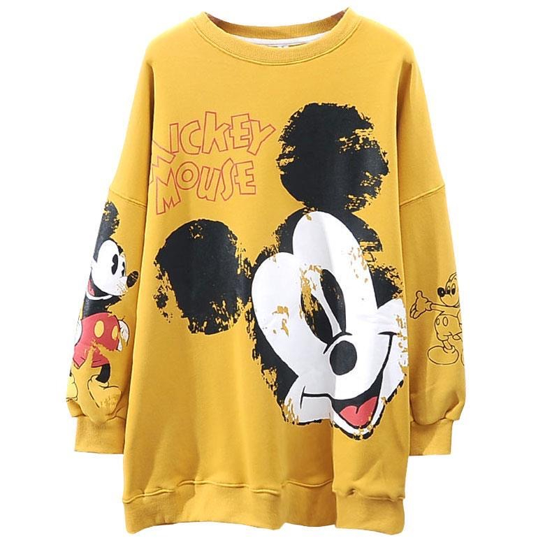 Sweatshirt Spring Mickey Cartoon Hoodies Womens Different Colors Harajuku Clothes Lovely Riverdale Streetwear Aesthetic Shirt