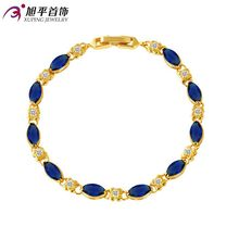 Xuping jewelry Factory Direct Gold Plated with Faux Ruby Bracelet Women's Fashion European And American-Style Gift Jewelry Brace(China)