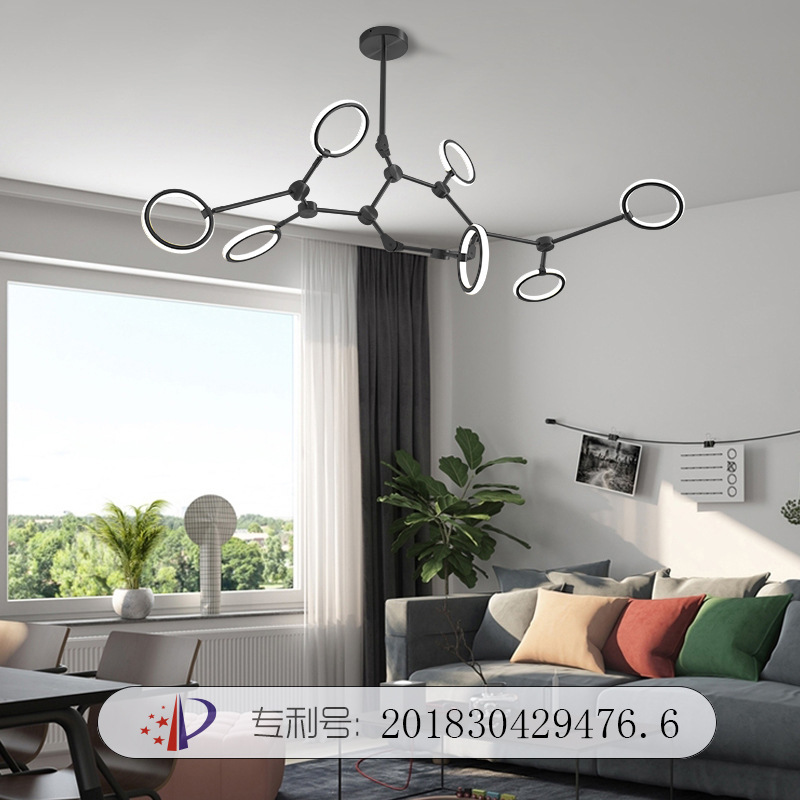 Japan  Hanging Ceiling Lamps Hanglamp Rope  LED  Pendant Lights Home Decoration E27 Light Fixture Industrial Lamp