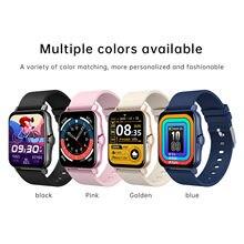 Zw23 1,69 pulgadas 2021 inteligente reloj Bluetooth llamada Ip67 rastreador de Fitness cuerpo de medición de la temperatura de las mujeres Gts 2 Smartwatch #3