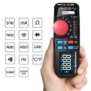 Image 3 - ADM92CL プロ 6000 カウント TRMS プロデュアルモードデジタルマルチメータテスターミニ電圧電流抵抗周波数計