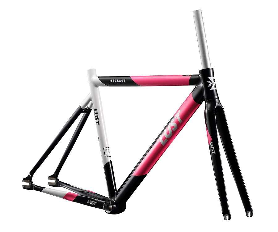 2020 Fixed Gear Frame Set AL6066 AL7005 Extra Licht Track Frame Set/Single Speed Racefiets Frame Met Carbon vork Fietsframe