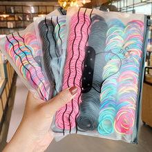 Coleteros elásticos y coloridos para chica, bolsa de 200/500, coleteros para chica, set de gomas para el pelo para niña, accesorios para el cabello