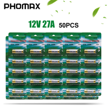 PHOMAX disposable batteries 50pcs/pack 27A alkalin