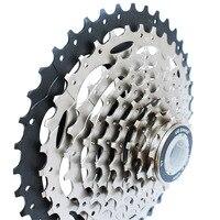 Mtb bicicleta 9 velocidade cassete 11 40 t roda livre roda dentada bicicleta ciclismo peças de aço|  -