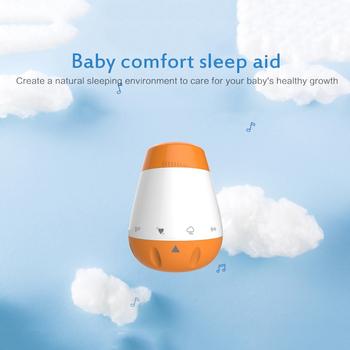 Dziecko coaxing zabawka pomoc w leczeniu zaburzeń snu zabawka biały hałas śpiąca dla dzieci nowa pomoc w leczeniu zaburzeń snu sterowanie głosem czujnik snu dziecka kołdry Xmas prezenty dla dzieci tanie i dobre opinie CN (pochodzenie) W wieku 0-6m 7-12m 13-24m 25-36m 3-6y 7-12y Unisex plastic Support Dropshiping Support epacket
