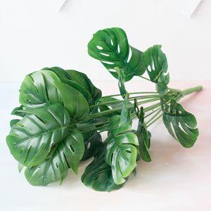 Image 4 - New 18 Forks/Bouquet 54cm Artificial Tropical Palm Leaves Simulation Plants Home Balcony Garden Landscape Decoration Accessories