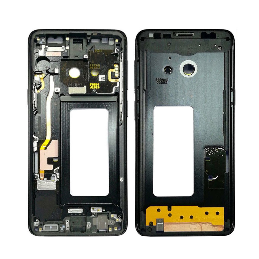 5Pcs/lot For Samsung Galaxy S9+ S9 Plus G960f G965F Housing LCD Display Middle Frame Midframe Bezel Chassis Plate-in Mobile Phone Housings & Frames from Cellphones & Telecommunications    3
