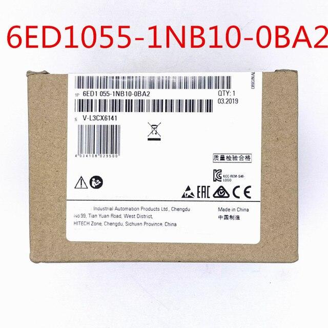 6ED1055 1NB10 0BA2 6ED10551NB100BA2 DC 24V ממסר DI 8DO 8 חדש מקורי PLC 6ED1 055 1NB10 0BA2