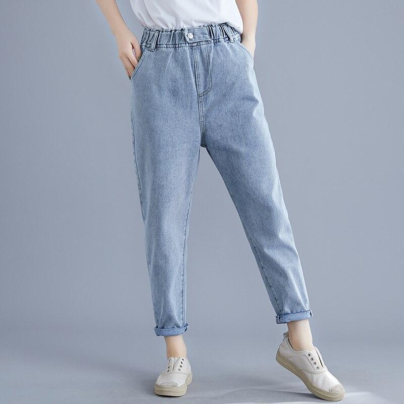 2020 Harem Pants Vintage High Waist Jeans Woman Boyfriends Women's Jeans Ladies Girl Jeans Cowboy Denim Pants Vaqueros Mujer