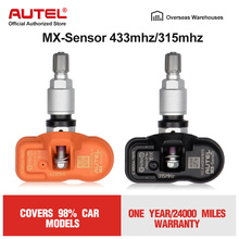 Autel MX-sensor 315MHz 433MHz Tyre Pressure Sensor Programmable For Tire Pressure Universal TPMS Sensor MX Sensor Clone Learn e3x zd11 sensor
