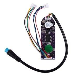 Image 4 - VOLL Neues Stecker Bluetooth Circuit Board & Dashboard Abdeckung für Xiaomi Mijia M365 Roller