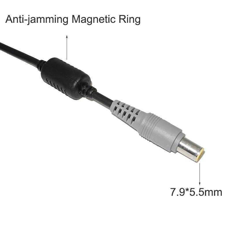 7.9*5.5mm wtyk męski gniazdo zasilania DC ładowarka złącze kabla dla Lenovo Thinkpad E420 E430 T61 T60p Z60T T60 T420 T430 laptopa