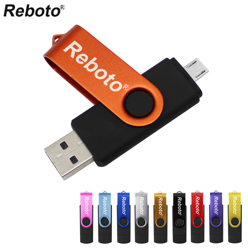 OTG USB Flash Drive For Android Smart Phone//Tablet/PC 64GB Pendrive 32GB OTG Pen Drive Metal Memory Stick 16GB USB Disk USB Key