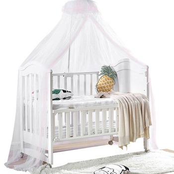 Baby Mosquito Net For children's Bed In Hung Style Safe Infant Mesh Cot Dome Mosquito Mesh Net Designed For Kids Bed elegant hung dome mosquito nets for summer polyester mesh fabric home textile wholesale bulk accessories supplies products
