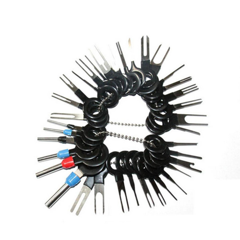 41 Pcs Terminal Removal Tool Car Electrical Wiring Crimp Connector Pin-Extractor