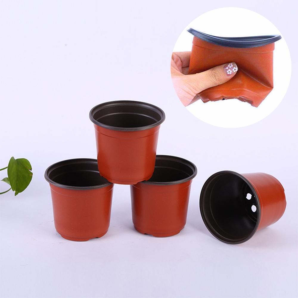 PP пластик посадка горшок растения питомник горшок посев сад растения светящиеся горшки еще размеры растения светящиеся горшки посевные горшки