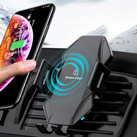 Qi Wireless Car Charger 10W Fast Charging Phone Holder Cellphones & Telecommunications