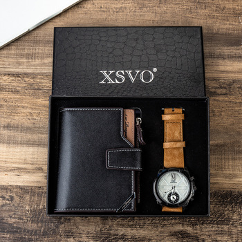 Pc2set / Watch Combination Gift Set for Men Watches for Men and Women