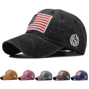 Outdoor Sports Men Baseball Cap Duck Tongue Cap Hockey Pure Cotton Flag Caps Hip Hop Hats For Women Dropshiping Wholesale
