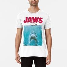 Engraçado tubarão-oceano natação impressão camiseta hip hop moda masculina manga curta engraçado design casual camisetas vintage novely menino topos