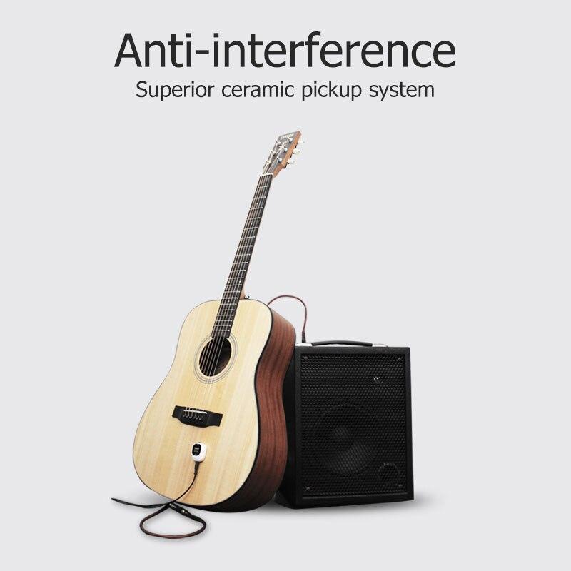 Guitarra captador sistema de instrumentos fiação piezo acústico violino banjo mandolin ukulele acessórios de guitarra microfone humbucker-3