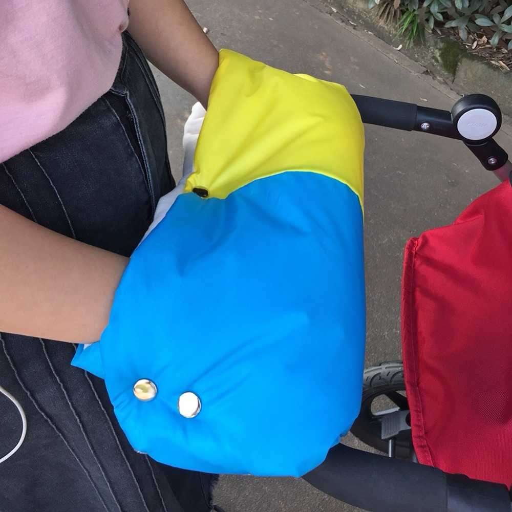 Warme/зимние варежки на коляску, ветрозащитные перчатки для новорожденных, непромокаемые флисовые Детские коляски, аксессуары