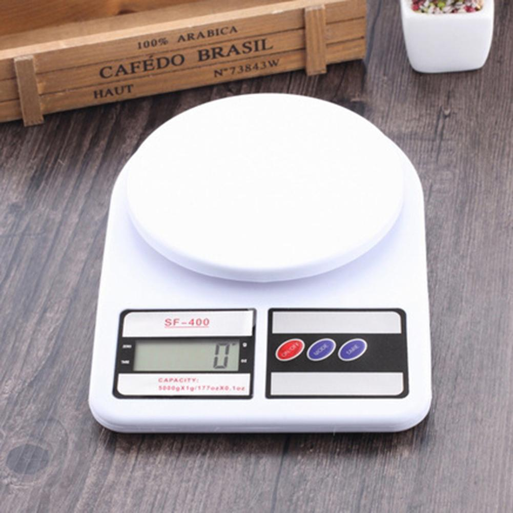 10kg/1g  Portable LED Electronic Scales Postal Digital Scale Food Measuring Weight Kitchen LED Electronic Baking Foods Scales