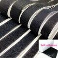 1 пара 15 мм-50 мм черный, белый цвет самоклеящаяся крепежная лента липучками крюк и петля кабельные стяжки швейной фурнитуры, 1 ярд/лот
