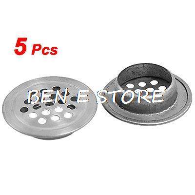5Pcs Furniture Fitting Metal Mesh Hole Ventilation Air Vent