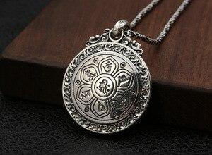 Image 4 - Real 925 prata tibetano amarelo jambhala buda pingente de prata esterlina zambhala riqueza buda pingente amarelo fortuna deus pingente