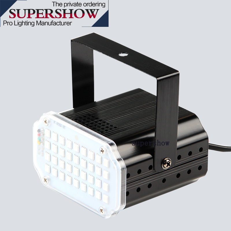 Disco Professional Lights 36 Leds Dj Strobe Flash Lighting Room RGB 3in1 LED Strobe Light For Dj Stage