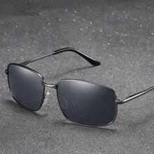цены VWKTUUN Polarized Sunglasses Men Metal Frame Driver Sunglasses Square Driving Sun glasses For Men UV400 Glasses