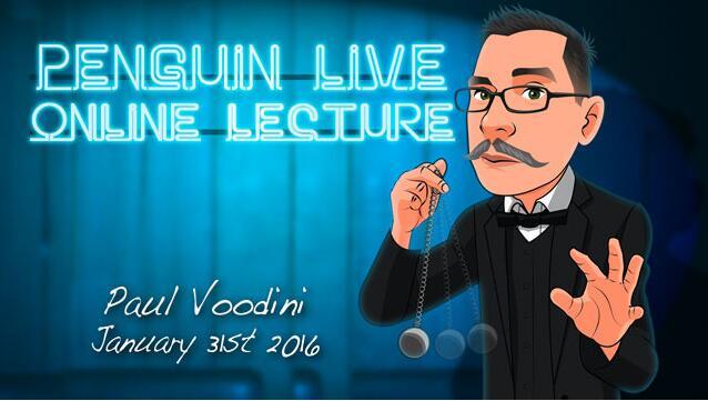 Paul Voodini Penguin Live ACT MAGIC TRICKS