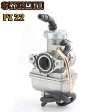 Карбюратор мотоциклетный PZ22 22 мм для 50 куб. См, 70 куб. См, 90 куб. См, 135 куб. См, куб. См для Kazuma ATV Quad Go Karts, мопедов SUNL HK110