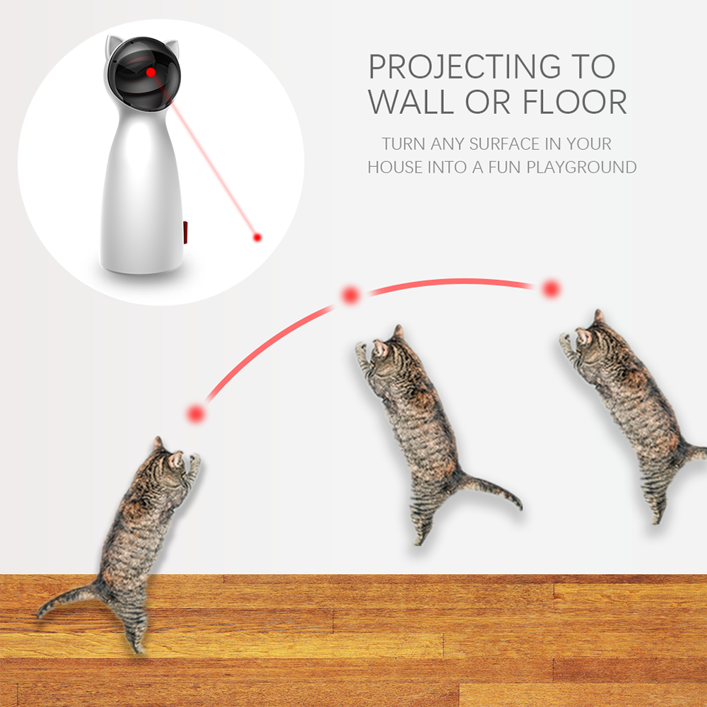 Cat Interactive  LED Laser Toy