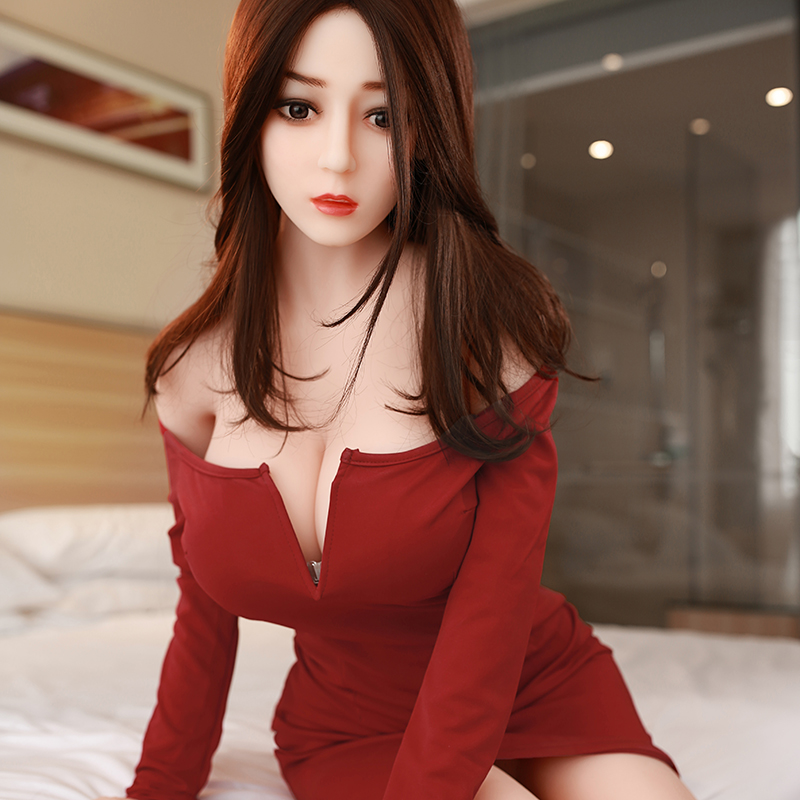 <font><b>148cm</b></font> High Quality Real Silicone <font><b>Sex</b></font> <font><b>Doll</b></font> Realistic <font><b>Big</b></font> <font><b>Breast</b></font> Oral, Anal; Vagina Adult <font><b>Sex</b></font> Toys Japanese <font><b>Sex</b></font> <font><b>Doll</b></font> for Men image