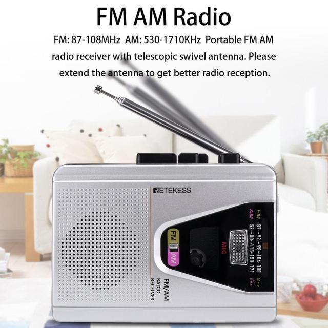 Портативный радиоприемник Retekess TR620 FM/AM