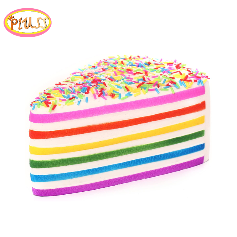 Squeezies Toys Squishy Cake Bread Phone Straps Slow Rising Charms Soft Gifts Toys Stress Reliever Fun Toys