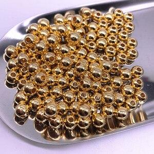 Новый 300-30 шт. 3/4/5/6/8/10 мм круглый браслетов, ожерелий, диаметр бусины Свободные Spacer Бусины для самостоятельного изготовления ювелирных издел...