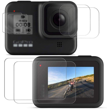 Go Pro Hero 8 Tempered Glass Screen Film Protector For Gopro Black Action Camera Accessories Lens - discount item  50% OFF Camera & Photo