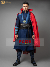 Doctor Strange Stephen Strange Cosplay Costume & Shoes  mp003475 doctor strange cloak cosplay costume dr strange steve red cloaks magic robe halloween party long cape