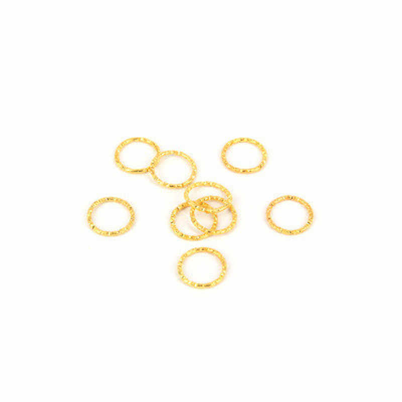10pcs-20pcs Golden/ Silver 1.5*15mm Hair Braid Dreadlock Beads Cuffs Rings Tube Accessories Hoop Circle Approx 12mm Inner Hole