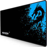 Rakoon Gaming Mouse Pad Computer Gamer Mousepad Large Game Rubber No-slip Mouse Mat Anime Big Mause Pad for PC Laptop