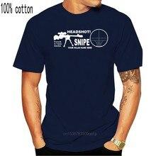 Camiseta de manga curta para homens de verão de cechino headshot personalizzata com nome o tuo nome mmo fps tshirt t streetwear