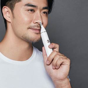 Image 5 - SOOCAS Electric Nose hair trimmer for Xiaomi Youpin Mini N1 Portable Ear Nose Hair Shaver Clipper Waterproof Safe Cleaner Men