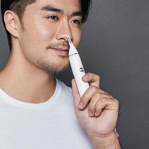 Image 5 - SOOCAS الكهربائية الأنف الشعر المتقلب ل شاومي Youpin Mini N1 المحمولة الأذن الأنف ماكينة حلاقة للشعر المقص مقاوم للماء آمنة نظافة الرجال
